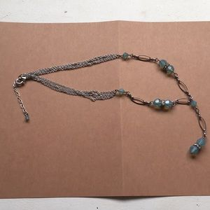 Brighton Blue Beaded Necklace